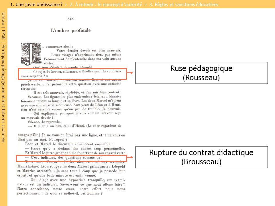 Ruse pédagogique (Rousseau)