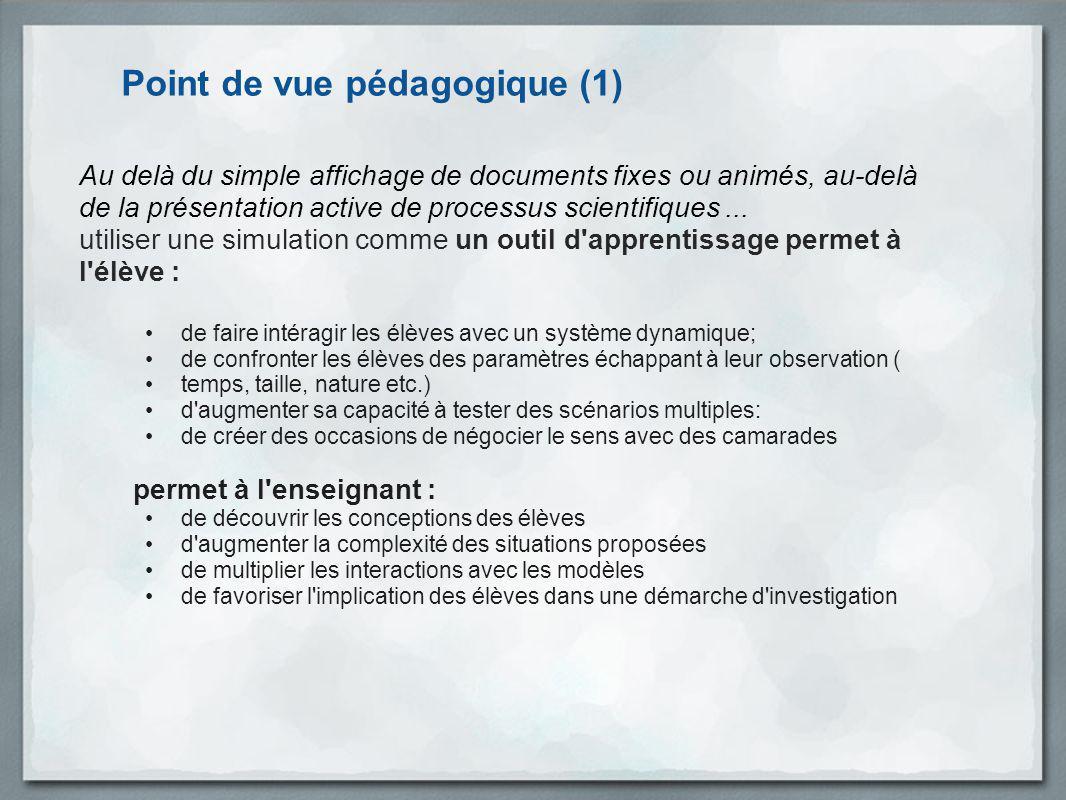 Point de vue pédagogique (1)