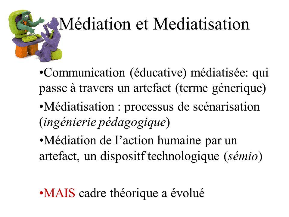 Médiation et Mediatisation
