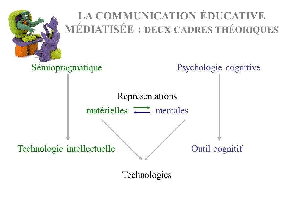 LA COMMUNICATION ÉDUCATIVE MÉDIATISÉE : DEUX CADRES THÉORIQUES