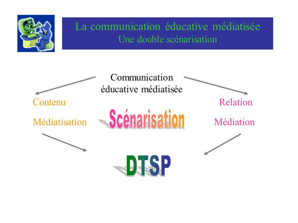 DTSP La communication éducative médiatisée Une double scénarisation