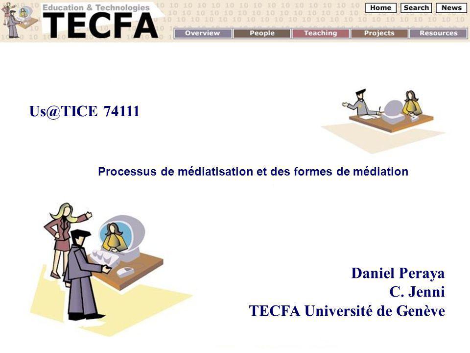 Processus de médiatisation et des formes de médiation