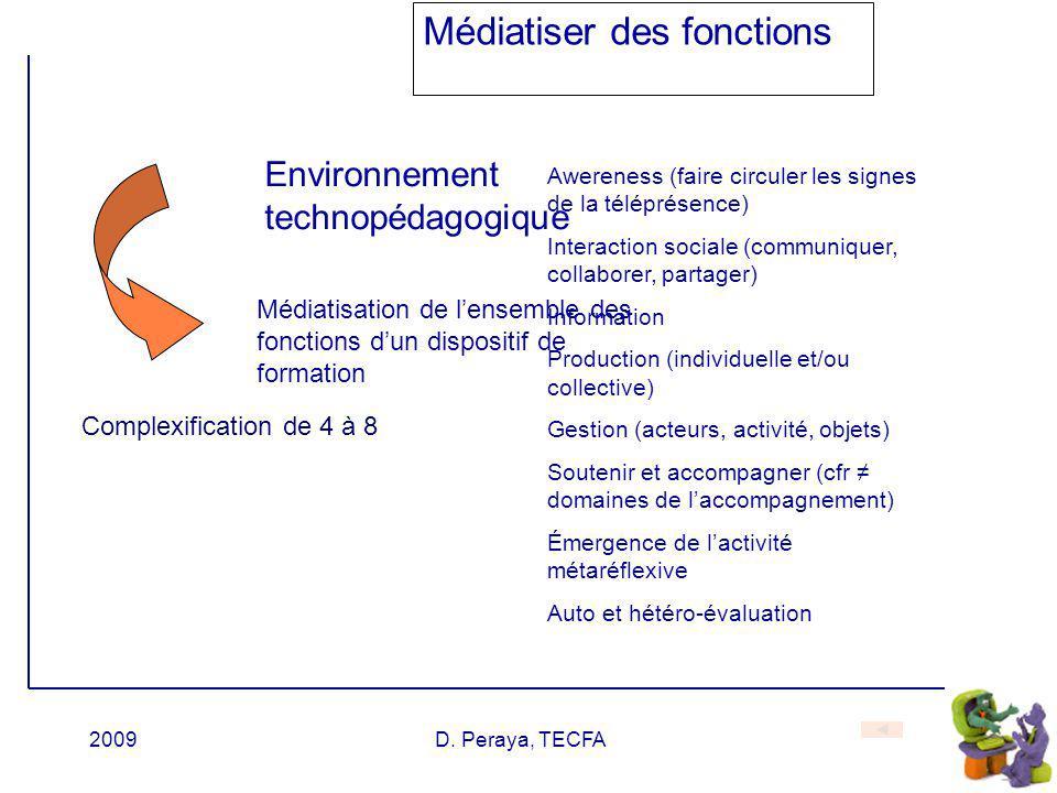 Médiatiser des fonctions