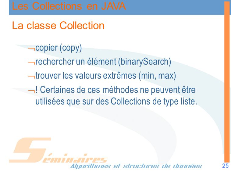 La classe Collection copier (copy)