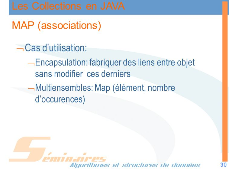 MAP (associations) Cas d'utilisation: