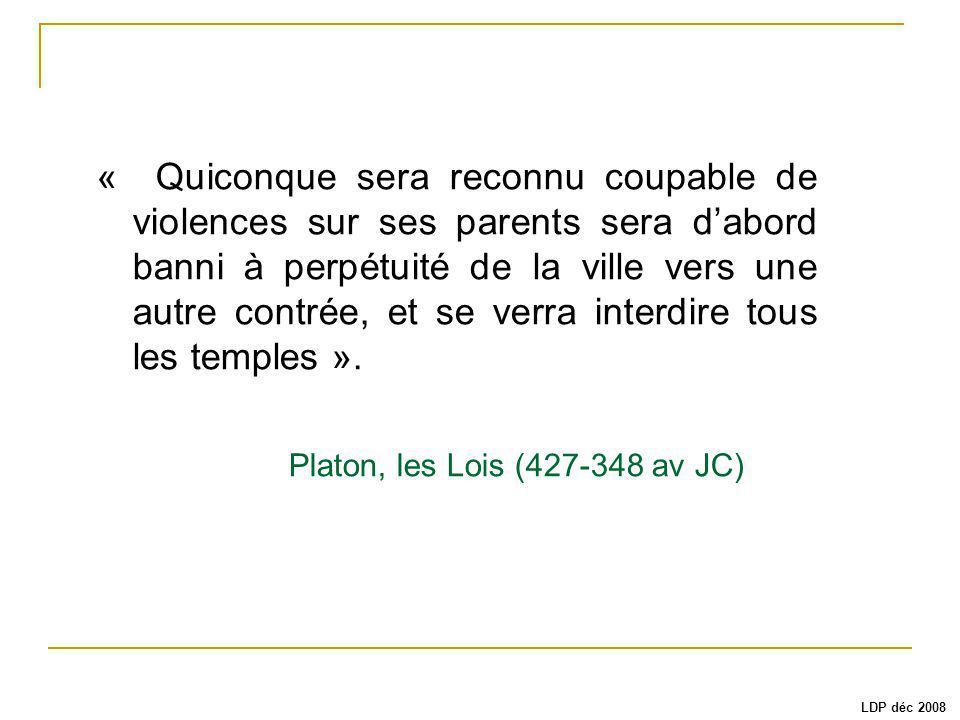 Platon, les Lois (427-348 av JC)