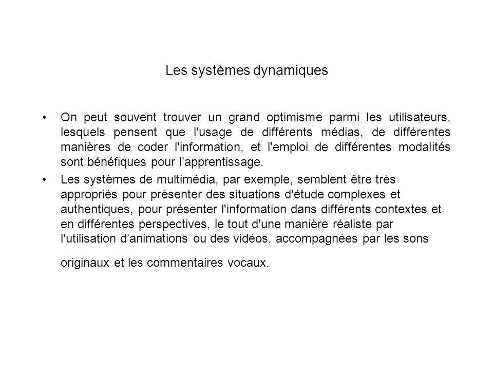 Les systèmes dynamiques