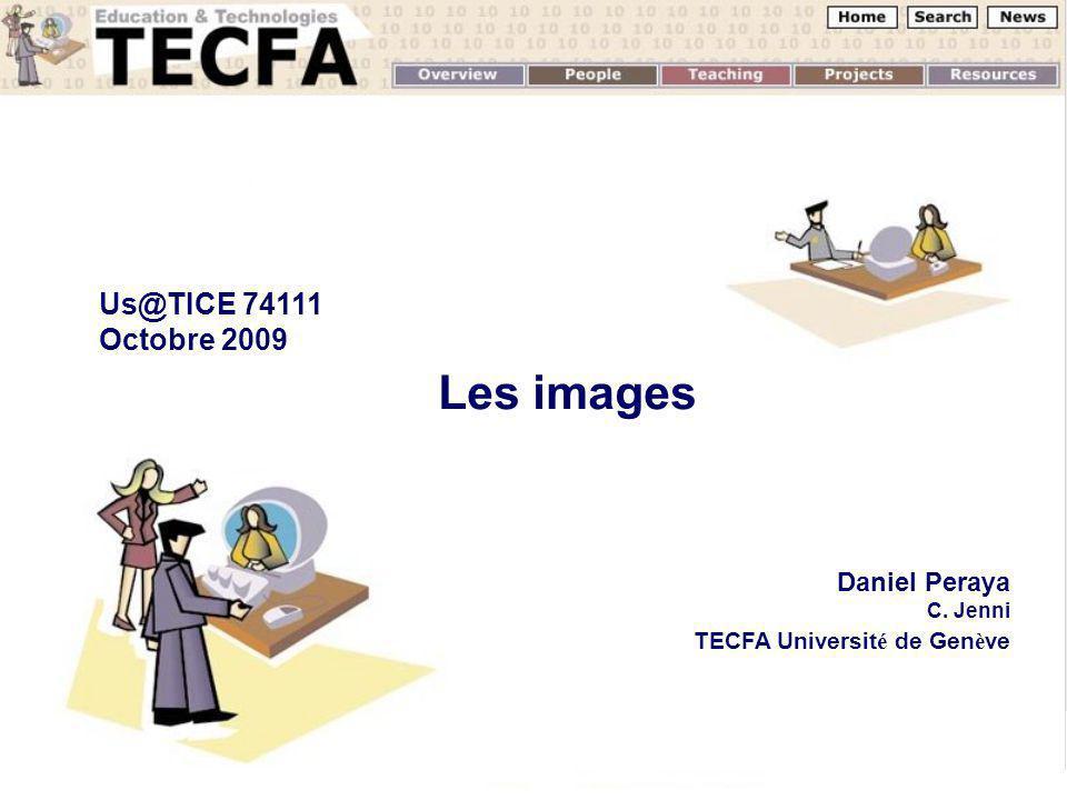 Les images Us@TICE 74111 Octobre 2009 Octobre 2008 Daniel Peraya