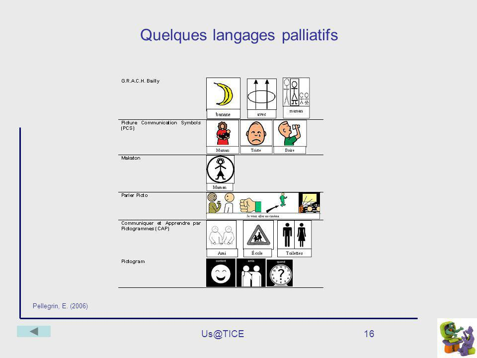 Quelques langages palliatifs