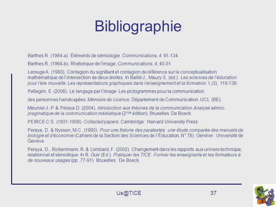 Bibliographie Us@TICE