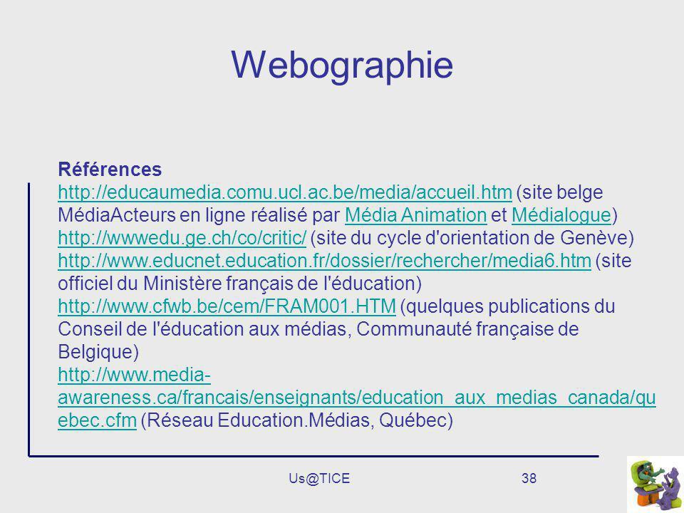 Webographie Références