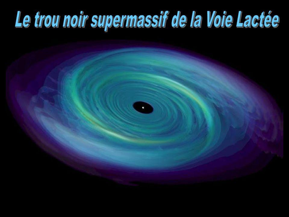 Le trou noir supermassif de la Voie Lactée