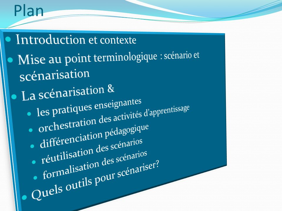 Plan Introduction et contexte