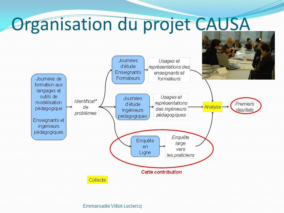 Organisation du projet CAUSA