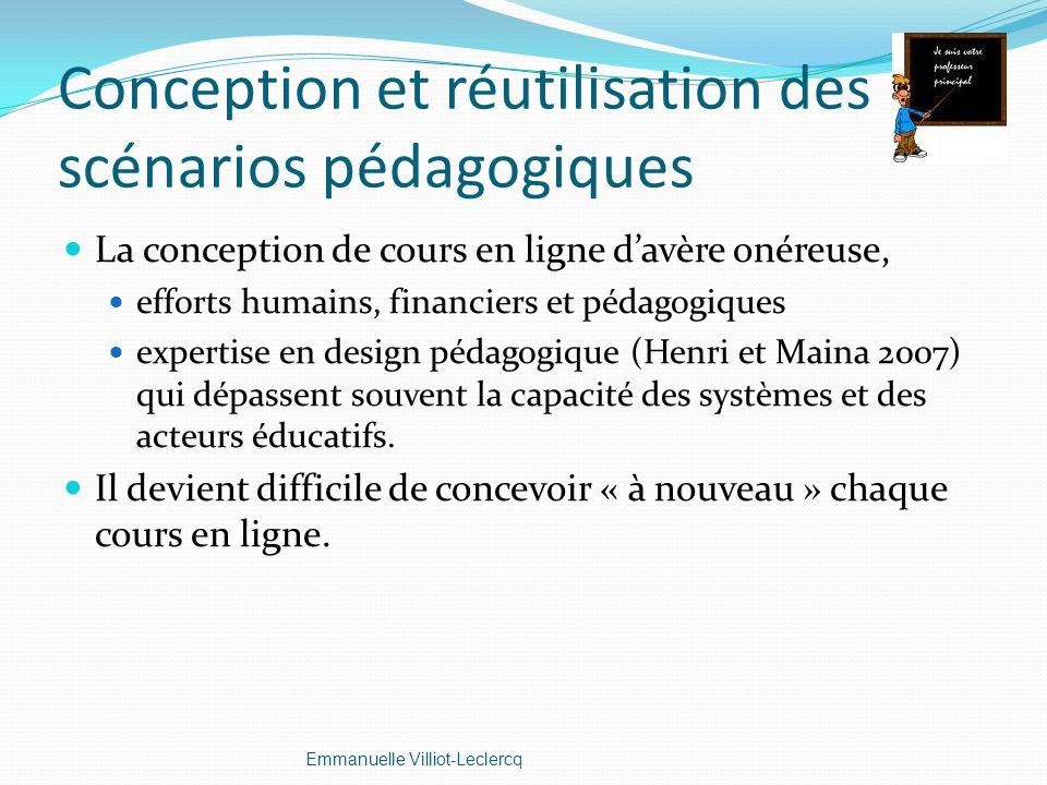 Conception et réutilisation des scénarios pédagogiques