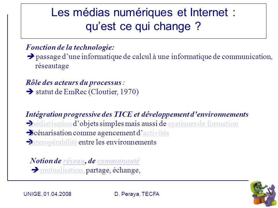 Les médias numériques et Internet : qu'est ce qui change