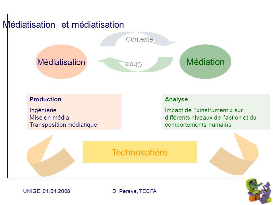 Médiatisation et médiatisation