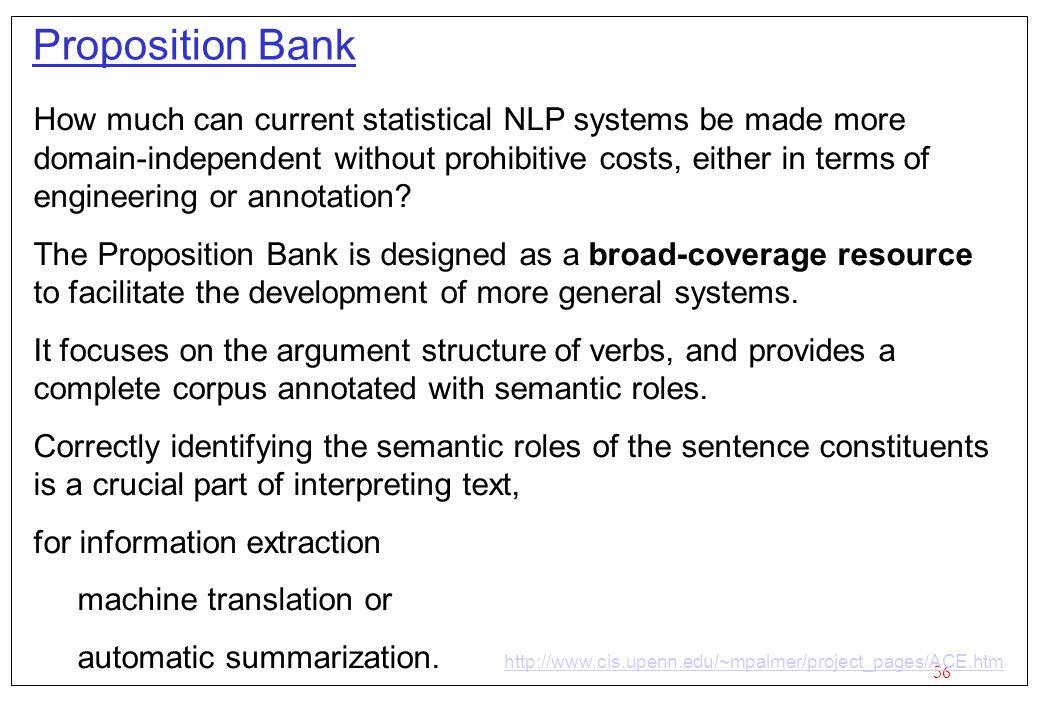 Proposition Bank