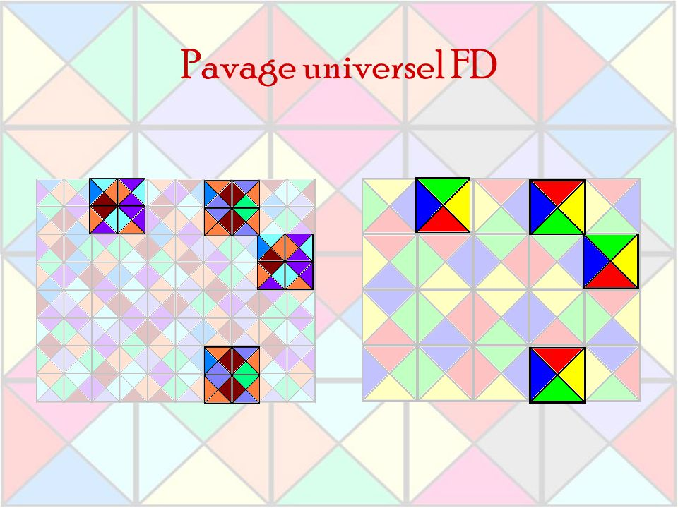 Pavage universel FD