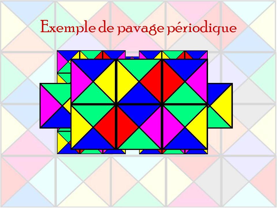 Exemple de pavage périodique
