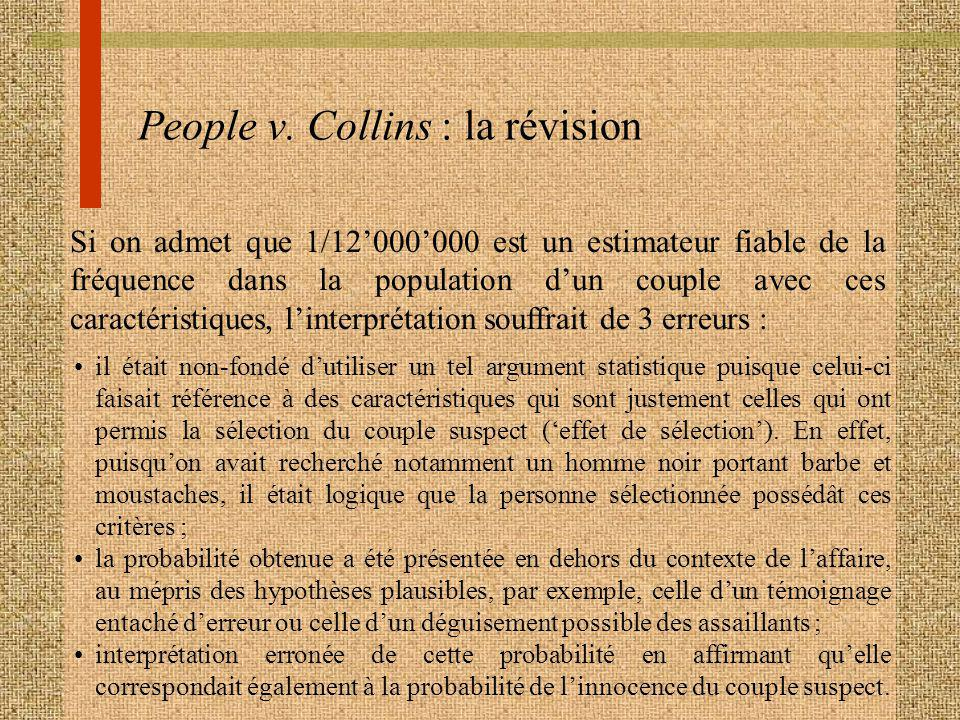 People v. Collins : la révision