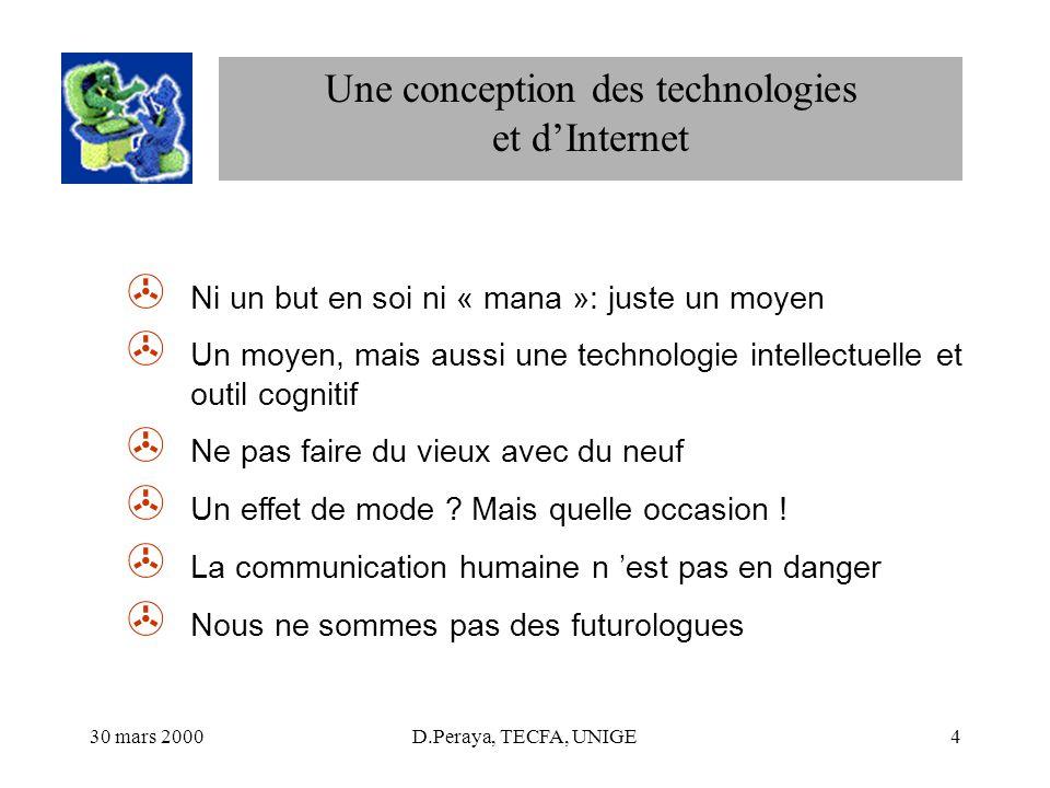 Une conception des technologies et d'Internet