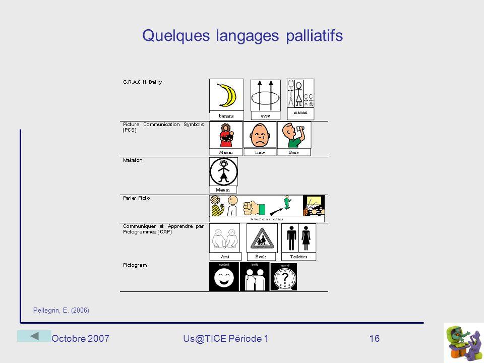 Quelques langages palliatifs
