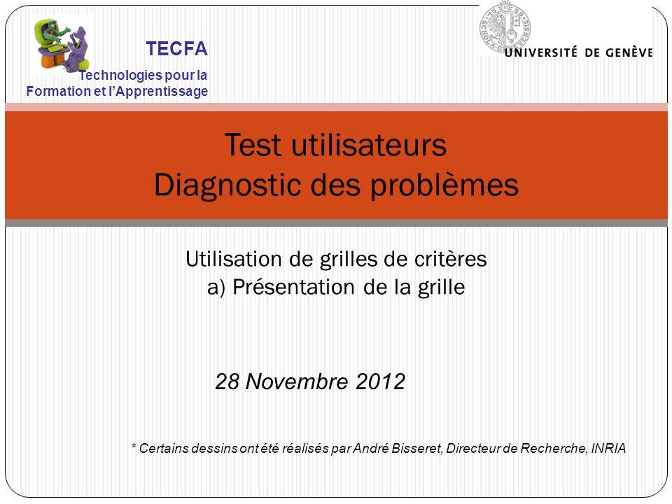 TECFA Technologies pour la Formation et l'Apprentissage.
