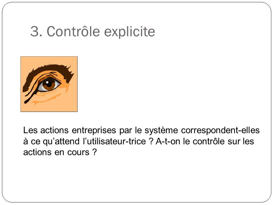 3. Contrôle explicite