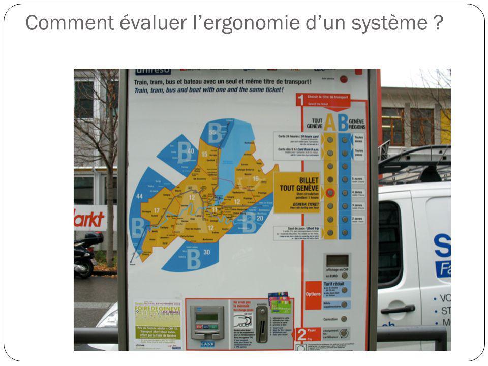 Comment évaluer l'ergonomie d'un système