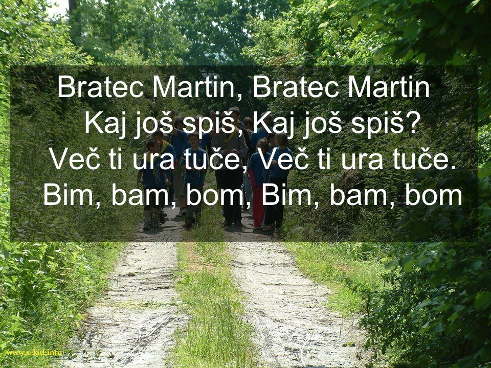 Bratec Martin, Bratec Martin Kaj još spiš, Kaj još spiš