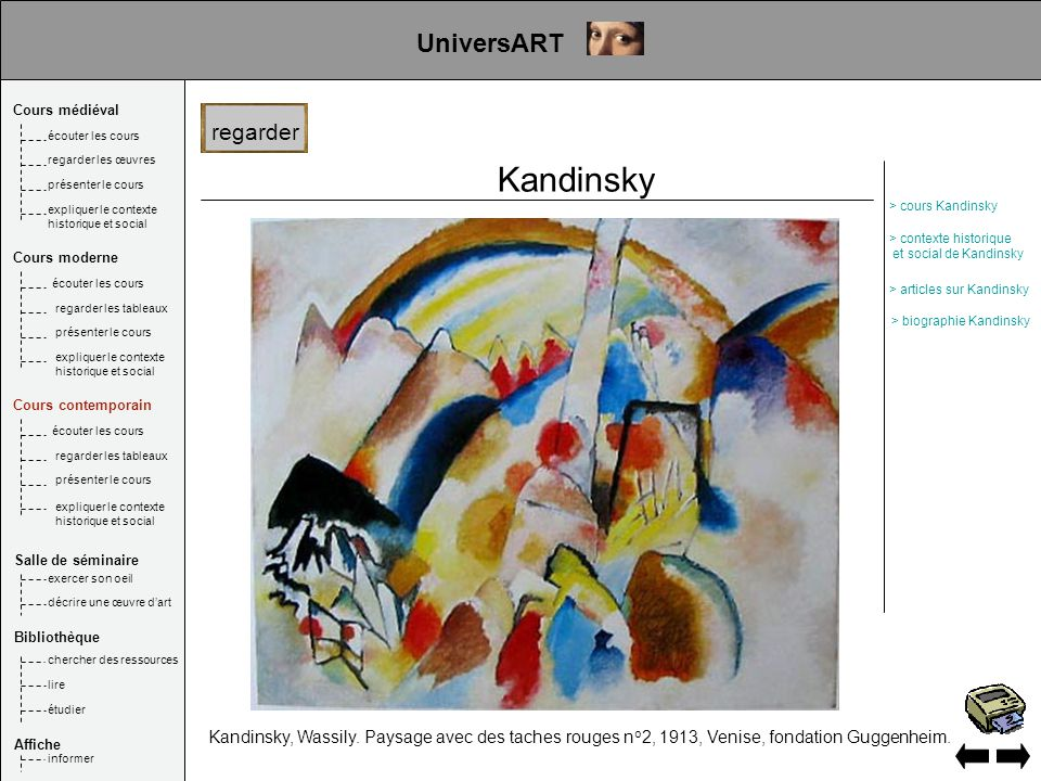 Kandinsky UniversART regarder