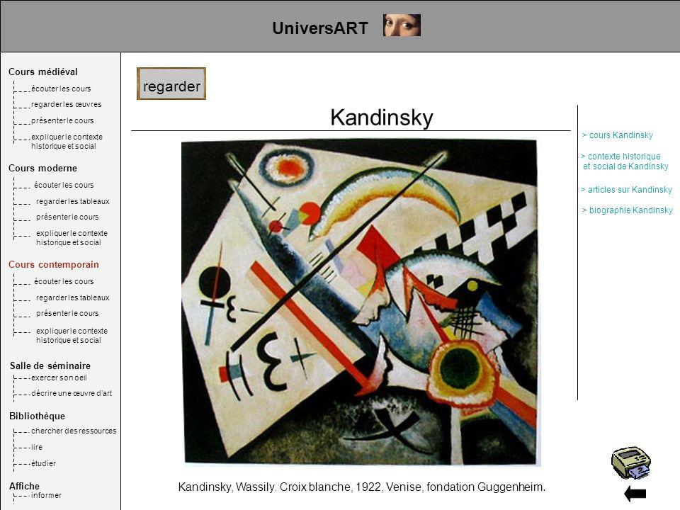Kandinsky UniversART UniversART regarder