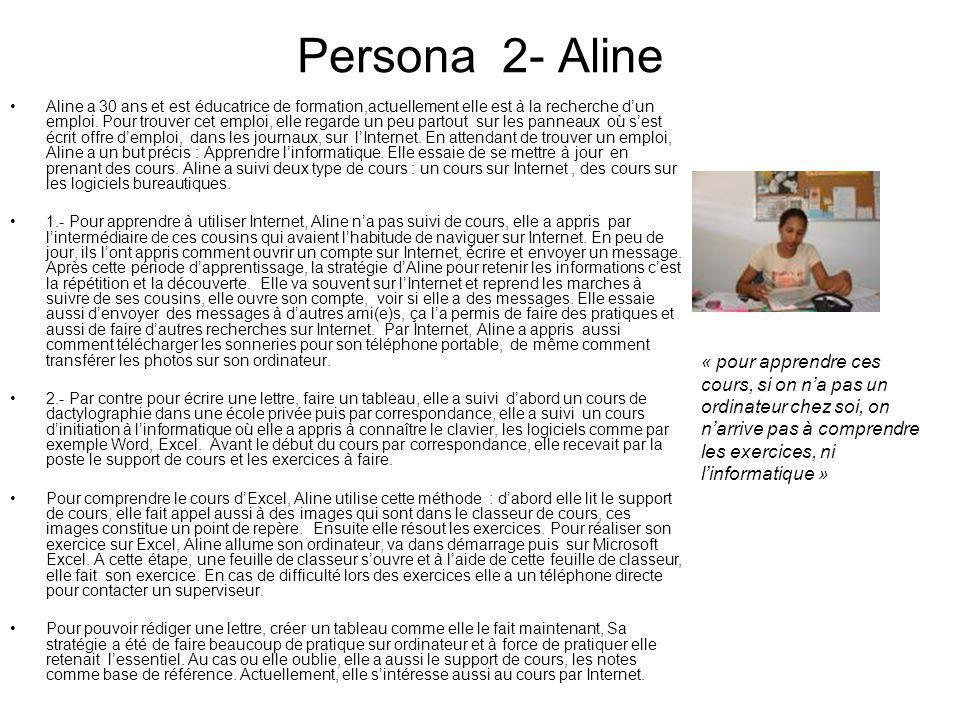 Persona 2- Aline