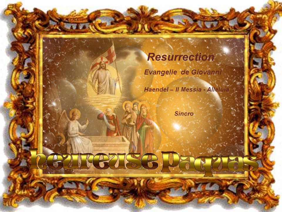 Resurrection Evangelie de Giovanni Haendel – Il Messia - Alleluia