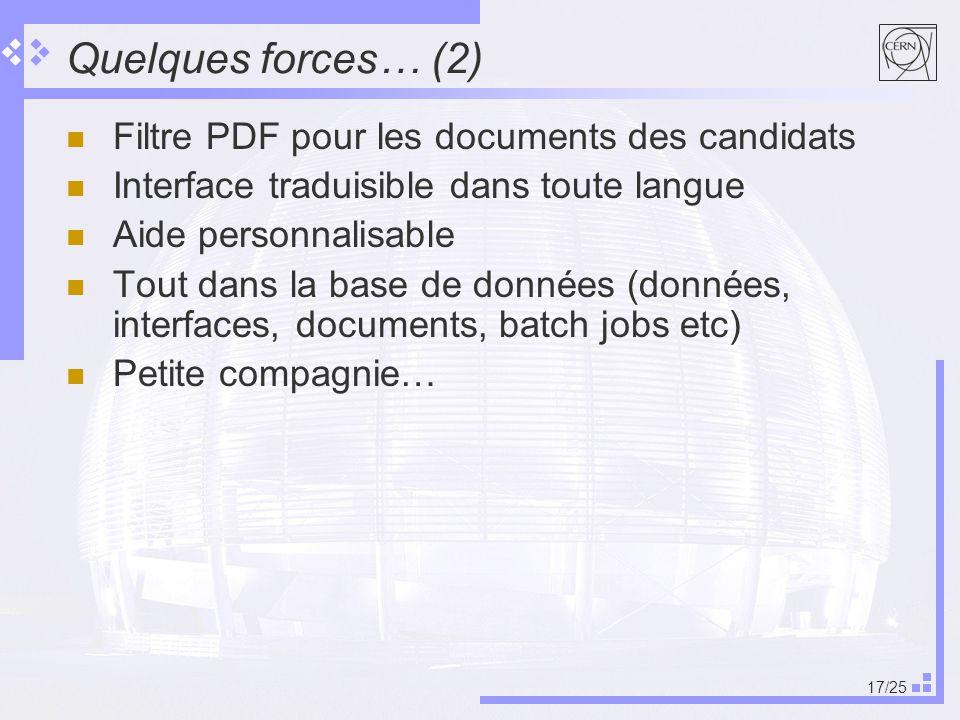 Quelques forces… (2) Filtre PDF pour les documents des candidats