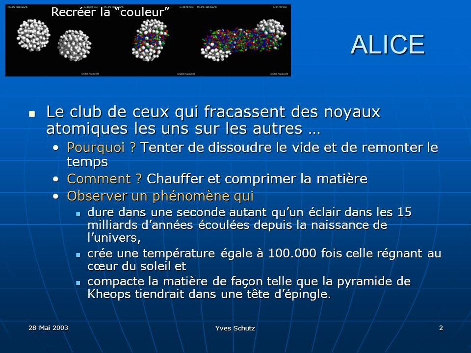 Recréer la couleur ALICE. Le club de ceux qui fracassent des noyaux atomiques les uns sur les autres …