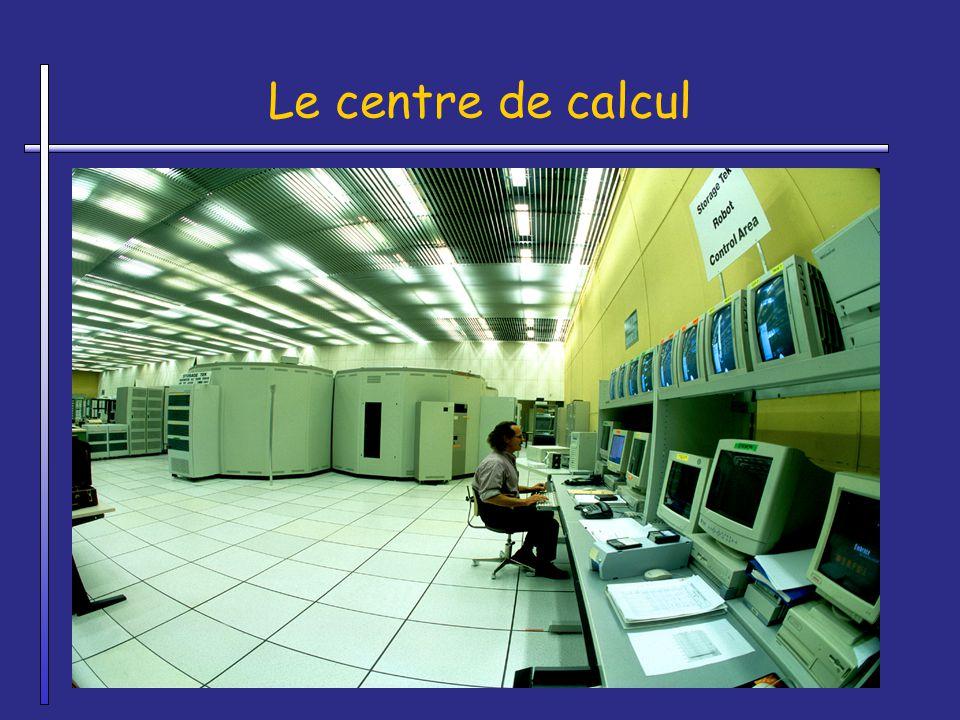 Le centre de calcul A laisser