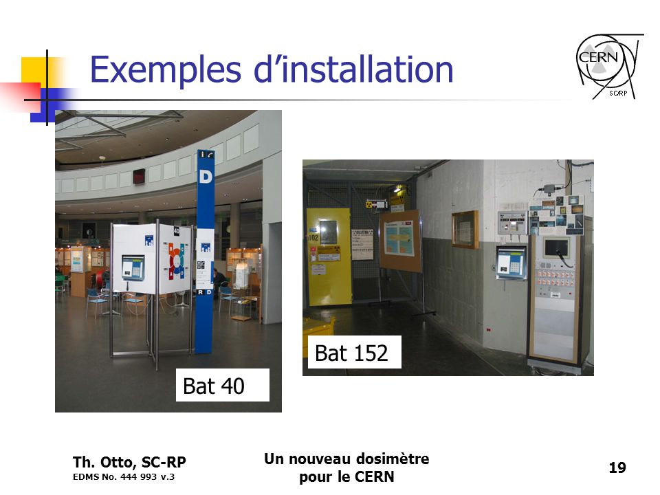 Exemples d'installation