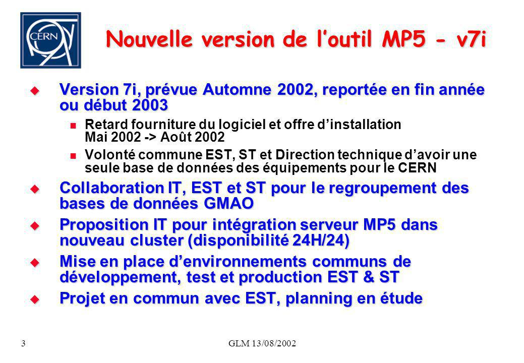 Nouvelle version de l'outil MP5 - v7i