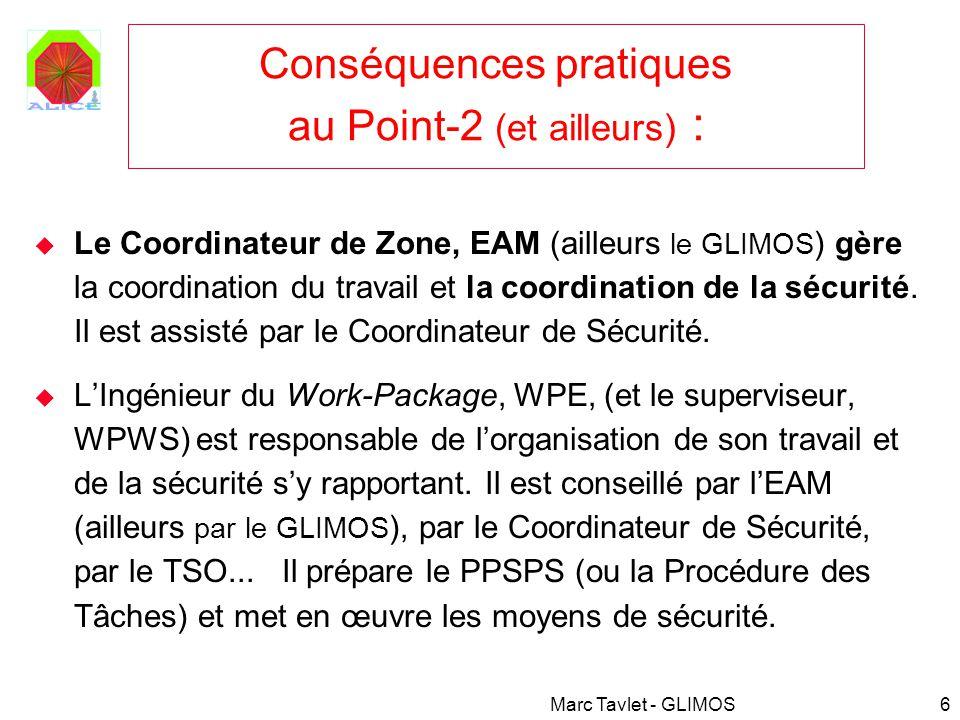 Conséquences pratiques au Point-2 (et ailleurs) :
