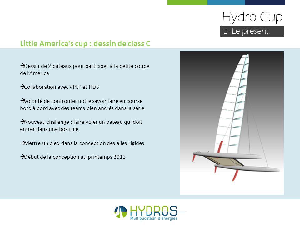 Hydro Cup 2- Le présent Little America's cup : dessin de class C