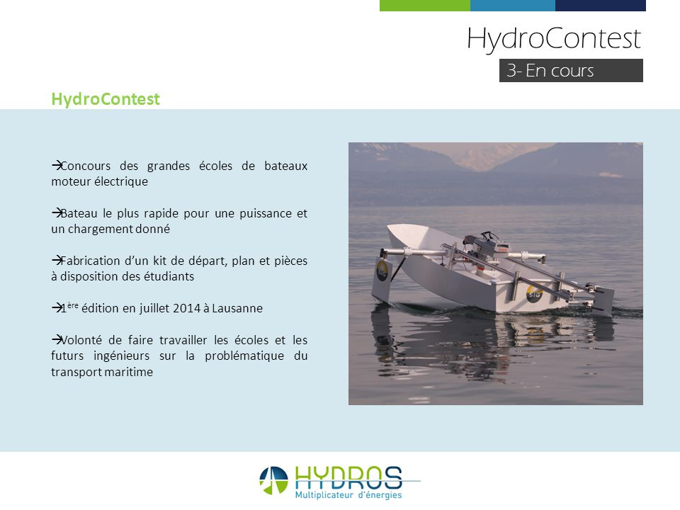 HydroContest 3- En cours HydroContest