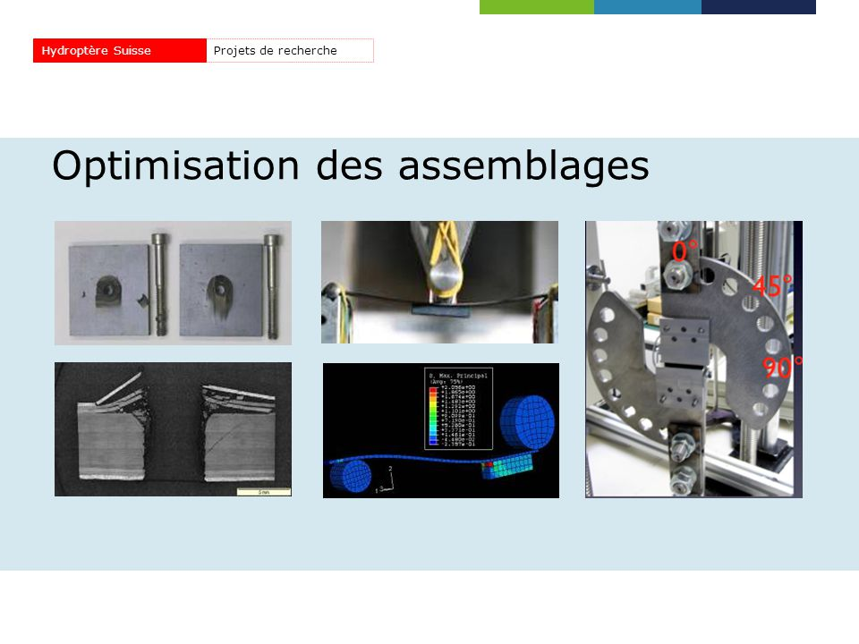Optimisation des assemblages