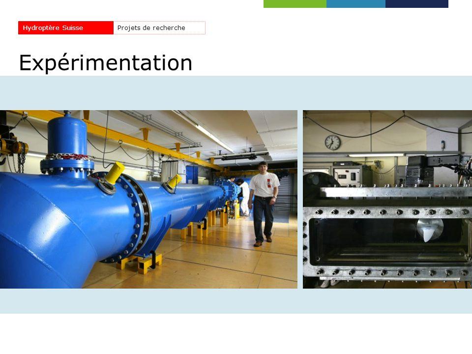 Hydroptère Suisse Projets de recherche Expérimentation