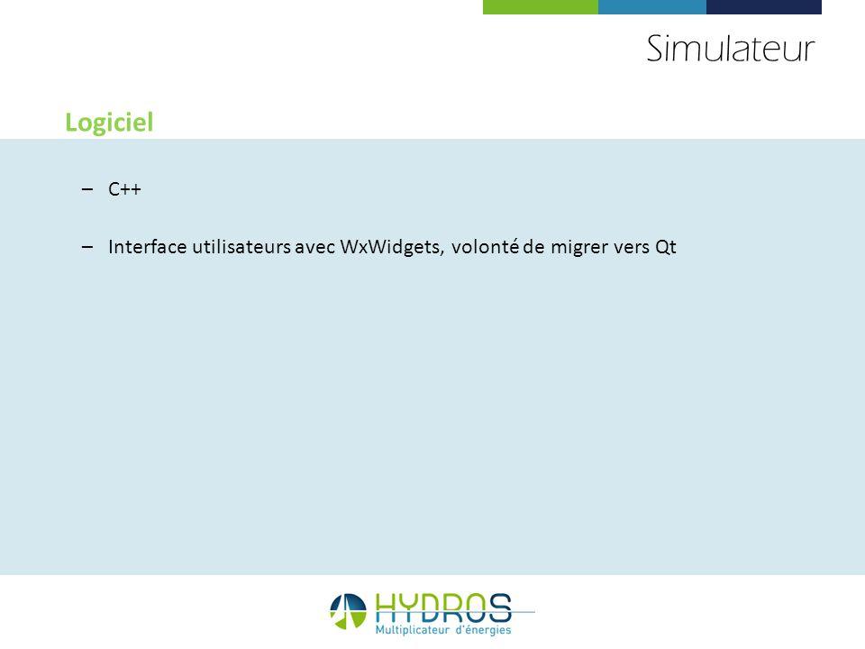 Simulateur Logiciel C++