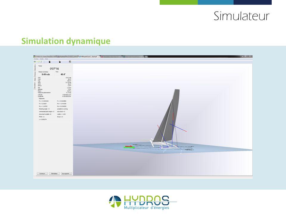 Simulateur Simulation dynamique 71