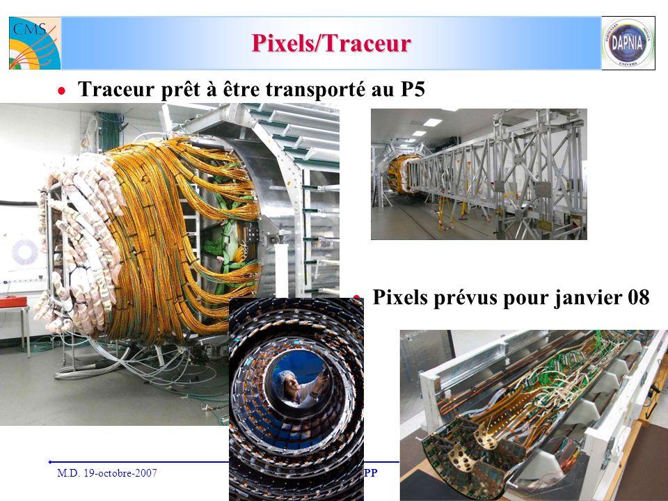 Pixels/Traceur Traceur prêt à être transporté au P5