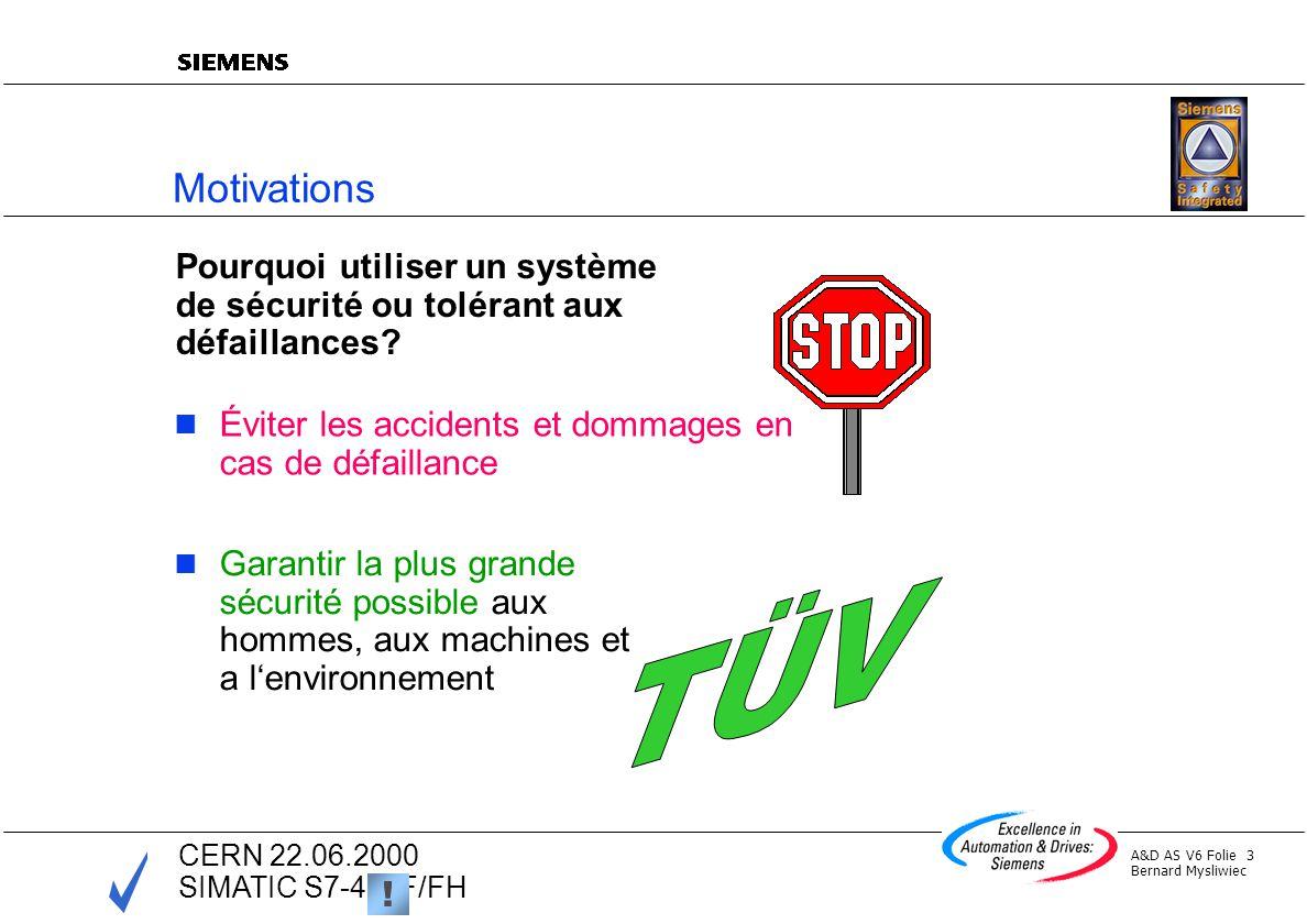 Motivations Pourquoi utiliser un système de sécurité ou tolérant aux défaillances Éviter les accidents et dommages en cas de défaillance.