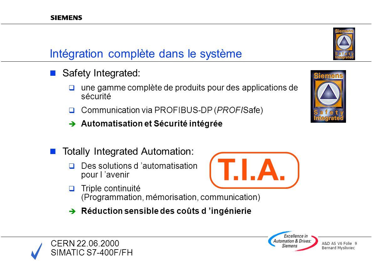 Intégration complète dans le système